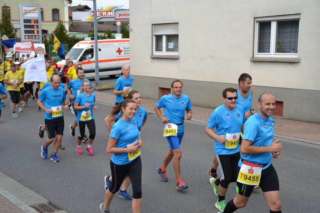 Team 2 der steide-runners in Lauda-Königshofen