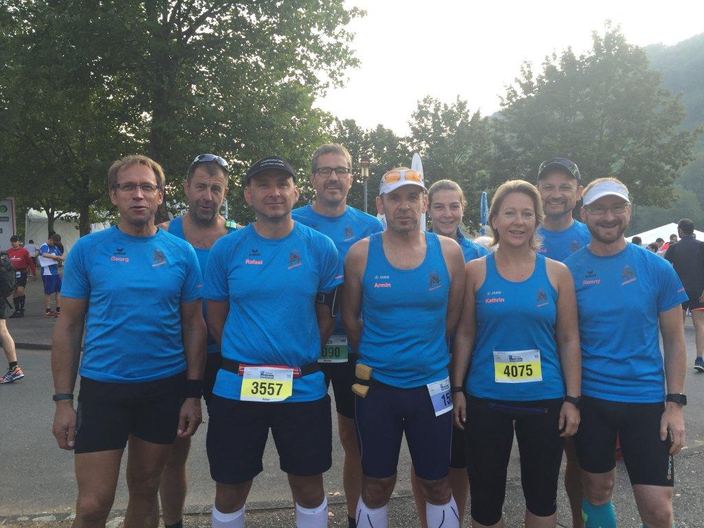 Läufer aus Niederstetten beim 21. ebm-papst Marathon