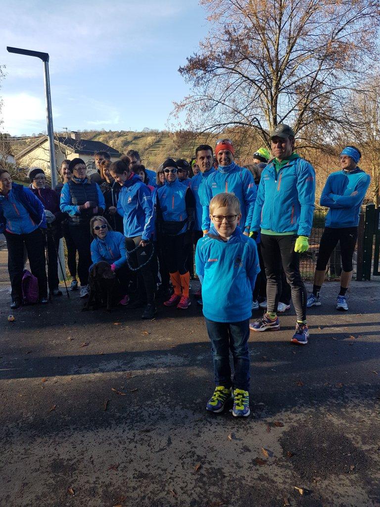 Das jüngste Mitglied der steide-runners