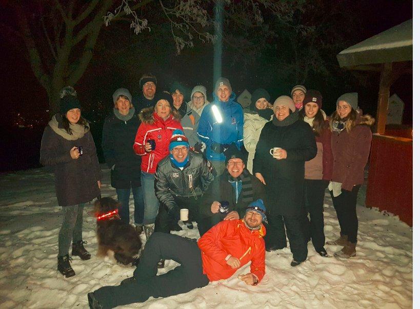 Winterwanderung Niederstetten 24.01.2017