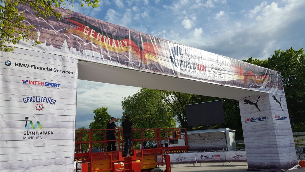 München Wohltätigkeitsrennen 2017 - Wings for Life World Run