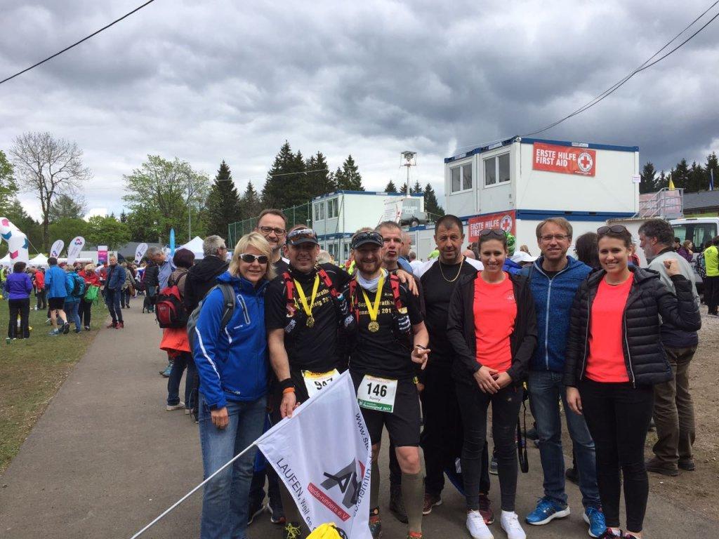 steide-runners beim 45. GutsMuths-Rennsteiglauf
