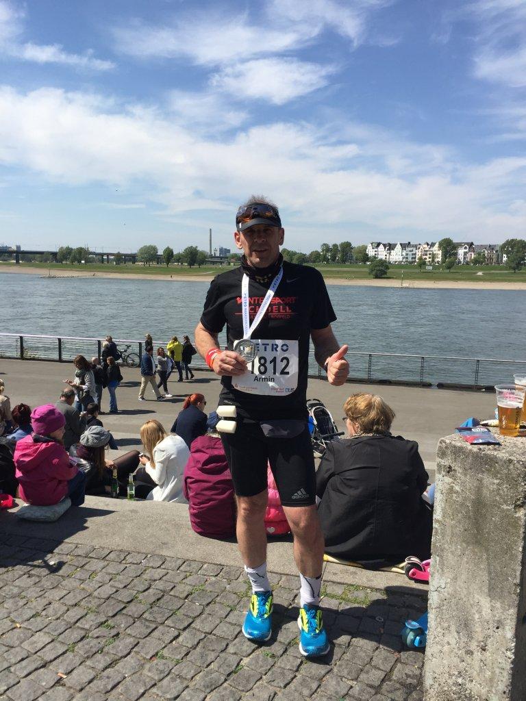 Geschaft! Marathon finished!