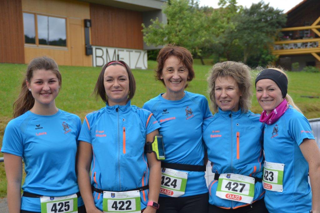 Die Starterinnen auf die 5km Distanz