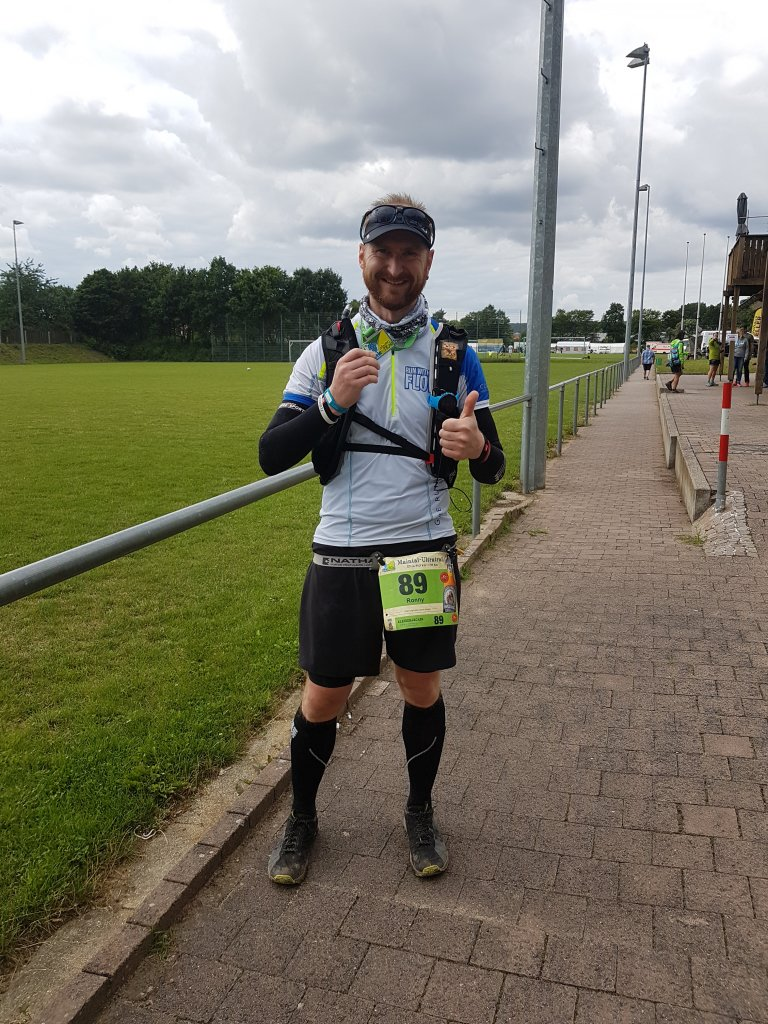 Ronny beim 4. Maintal Ultra Trail