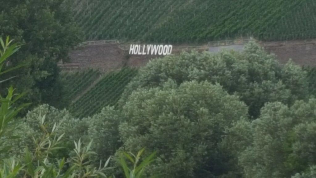 Hollywood in den Weinbergen? Trail Römische Weinstraße