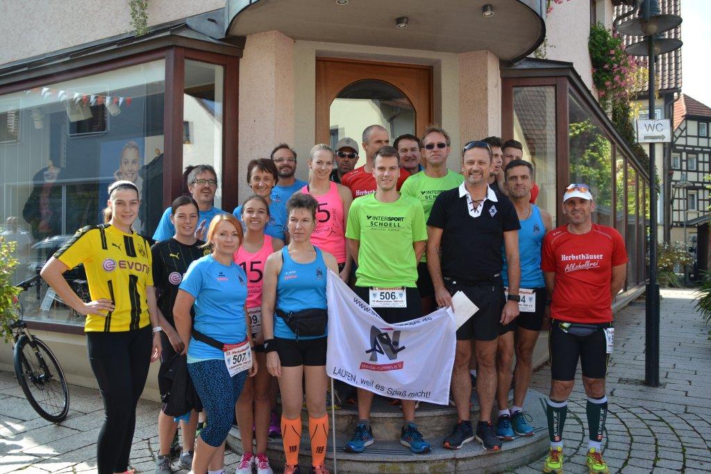 steide-runners beim 23. Herbstfestlauf in Niederstetten