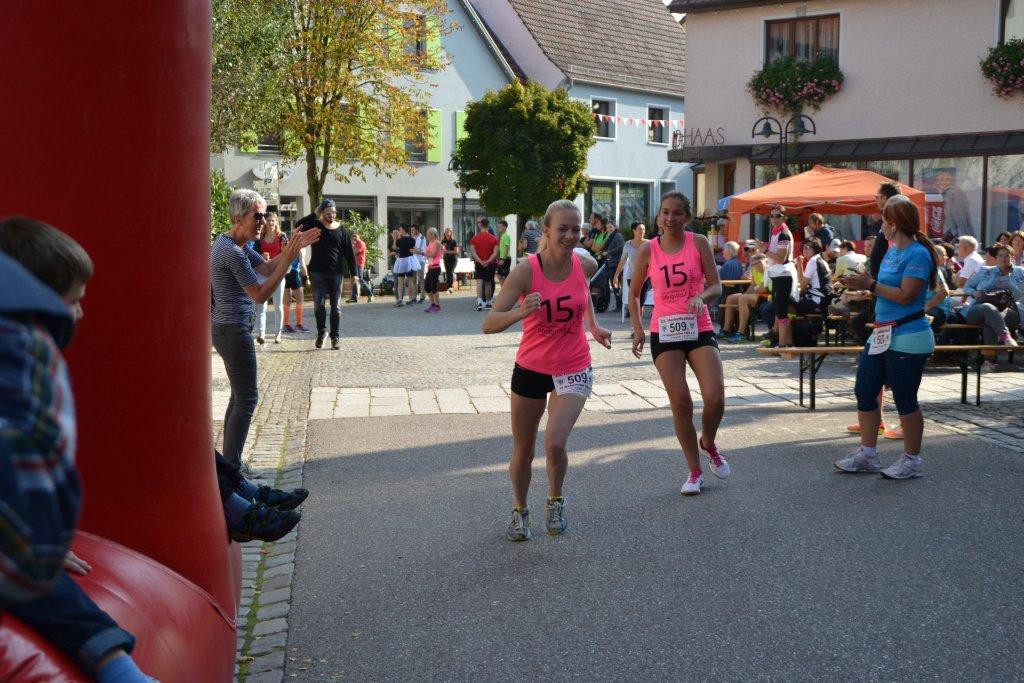 Staffelwechsel bei den Damen der steide-runners