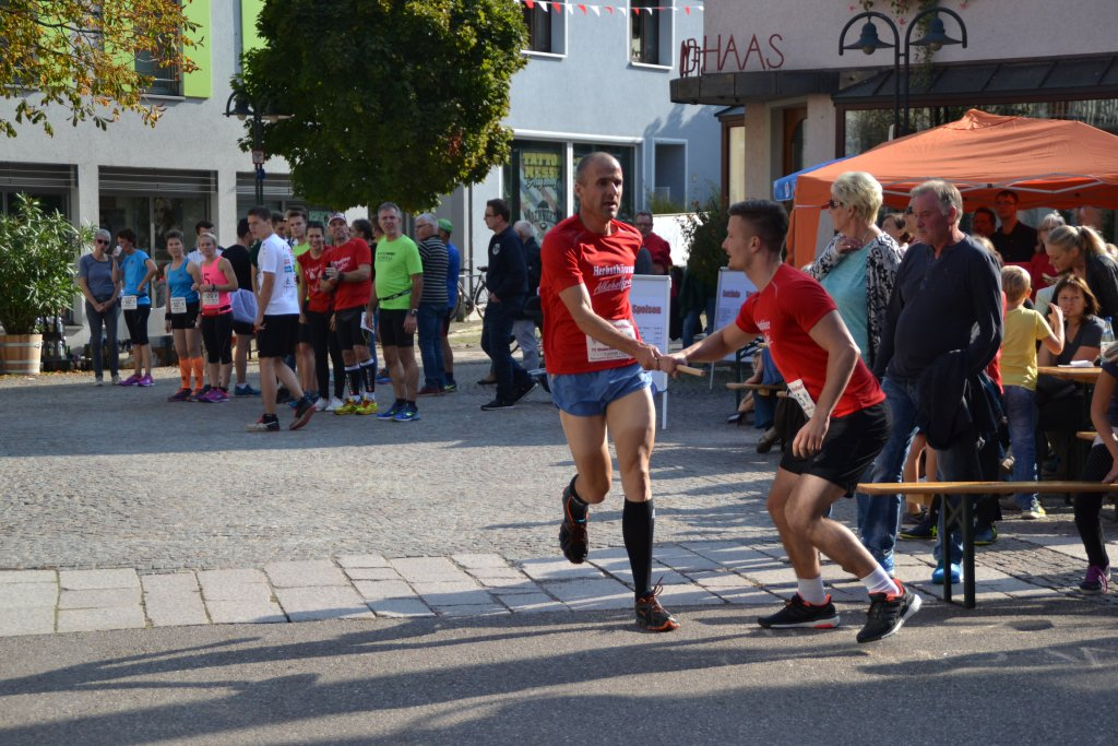 Staffelwechsel bei den Herren der steide-runners