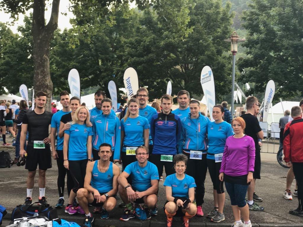steide-runners beim 22. ebmpapst Marathon Niederhall