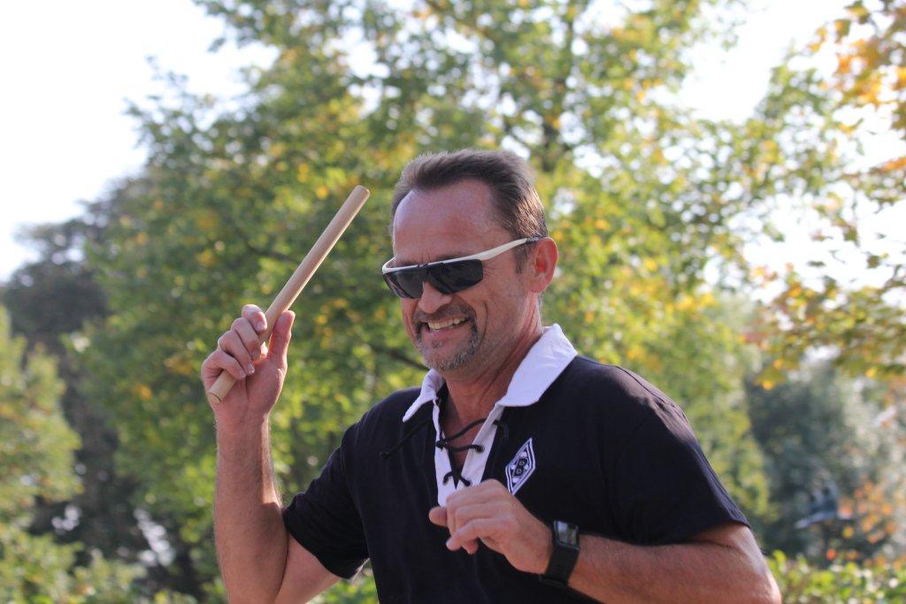 Roland beim 23. Herbstfestlauf