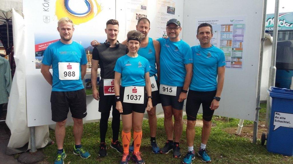 steide-runners beim 27. Messelauf in Lauda-Königshofen