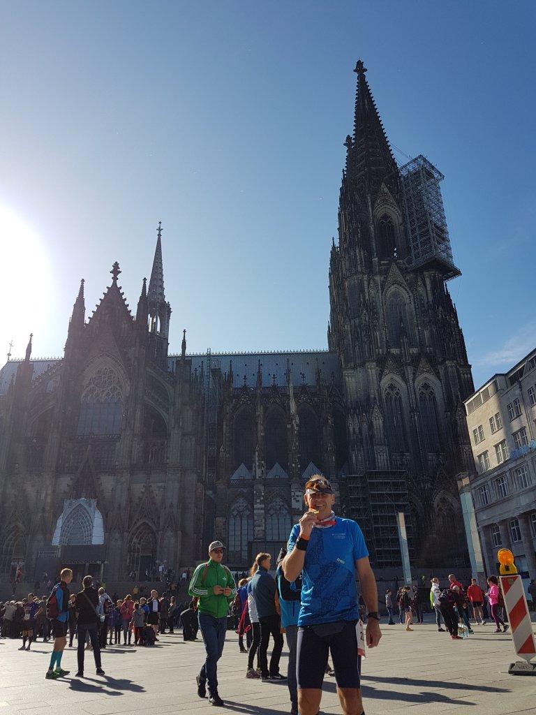 Armin beim RheinEnergieMarathon Köln
