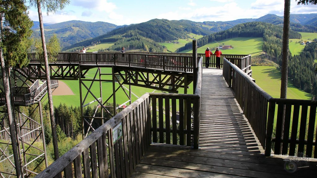 Aussicht über die Steiermark
