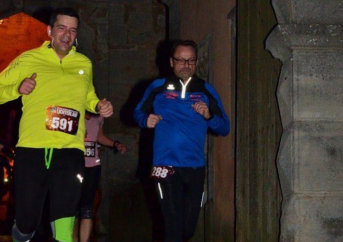 Roland beim Hobbylauf in Rothenburg