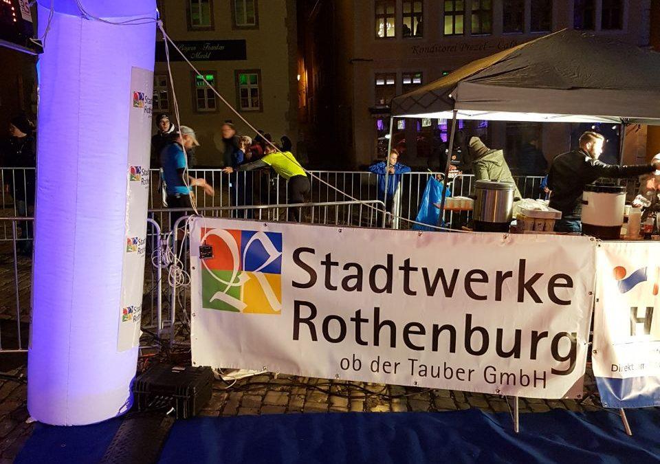 12. Stadtwerke Rothenburg Lichterlauf