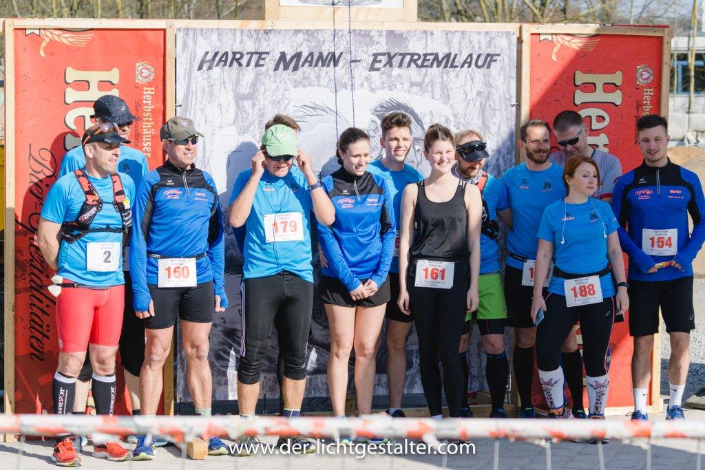 steide-runners beim Harten Mann Extremlauf in Niederstetten