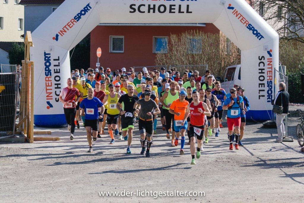 Startschuss 5. Harte Mann Extremlauf 2018 in Niederstetten