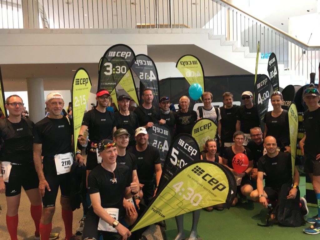 Die Pacemaker beim iWelt Marathon in Würzburg 2018