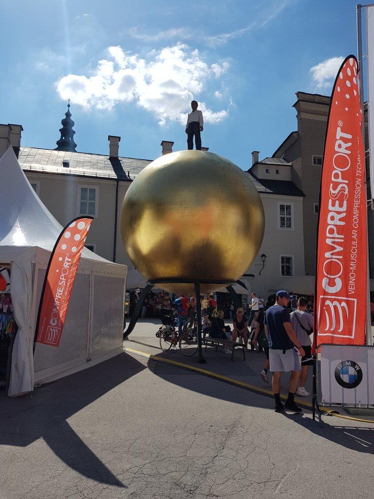 Die Sphaera ein Gesamtkunstwerk in der Altstadt von Salzburg