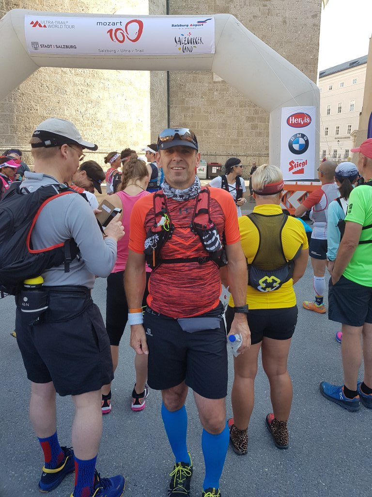 Armin beim 7. Mozart 100 Salzburg Ultra-Trail