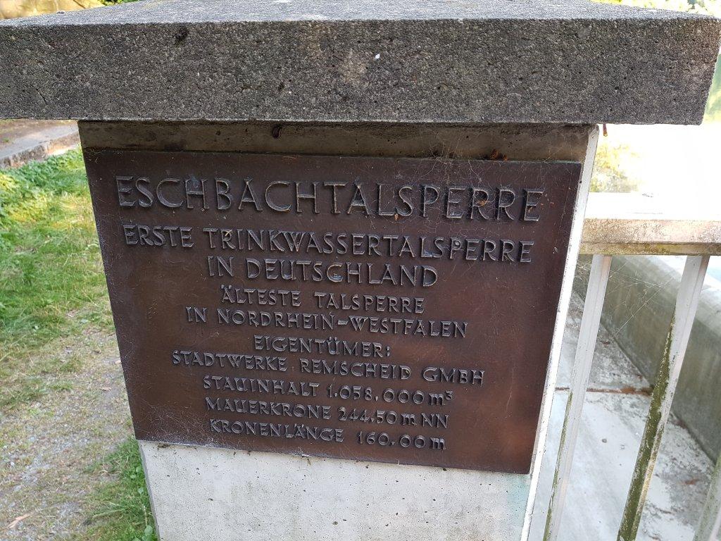 Eschbachtalsperre