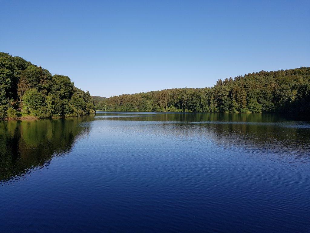 Eschbachtalsperre bei Remscheid
