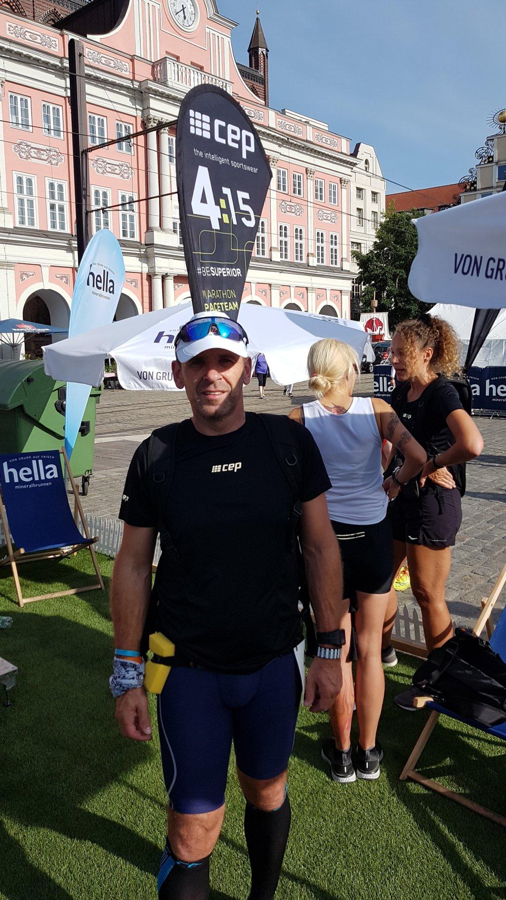 Armin beim 16. Hella Marathon Nacht Rostock