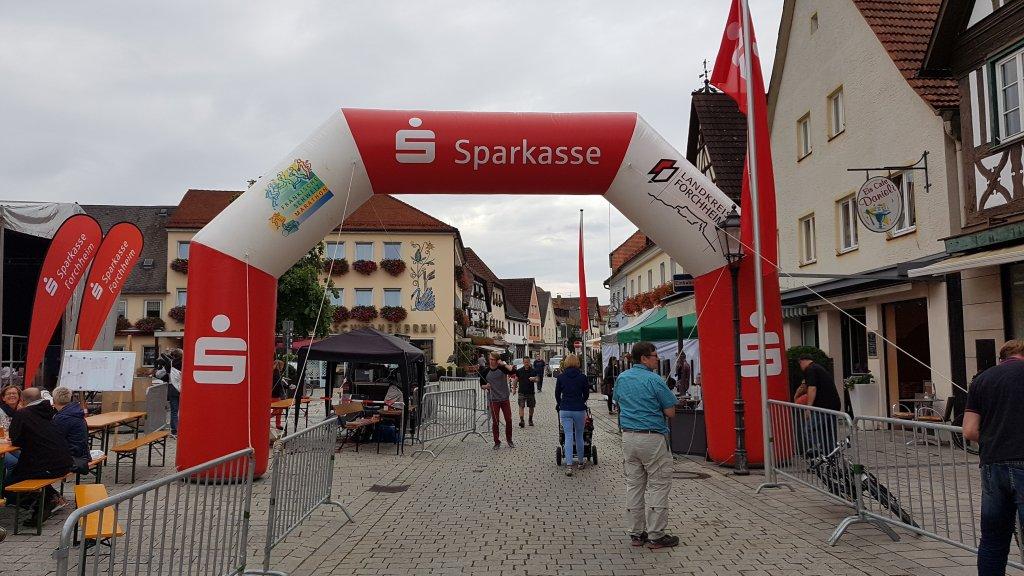 19. Fränkische Schweiz Marathon Startbereich