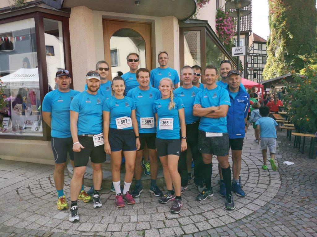 steide-runners beim 24. Herbstfestlauf in Niederstetten