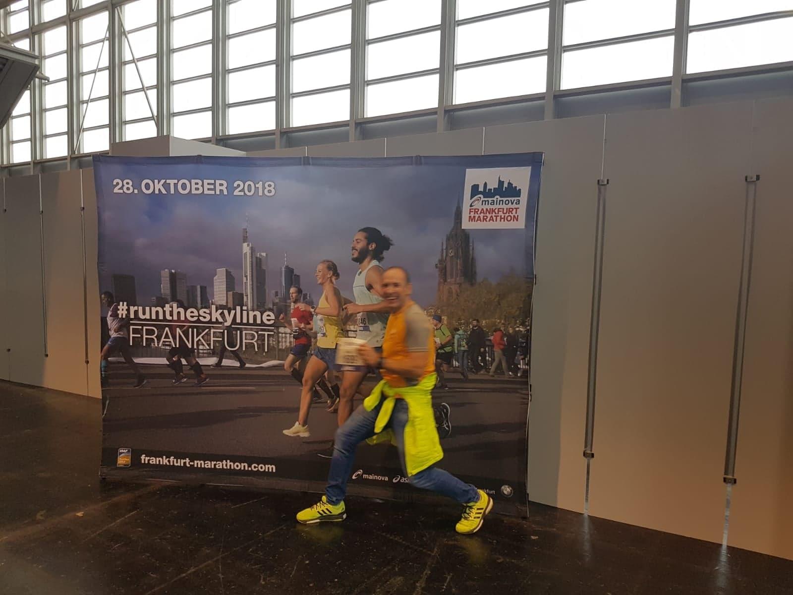 Armin beim 37. Mainova Frankfurt Marathon