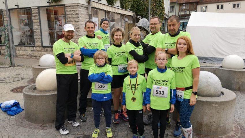 steide-runners beim 9. Crailsheim Sparkassenlauf