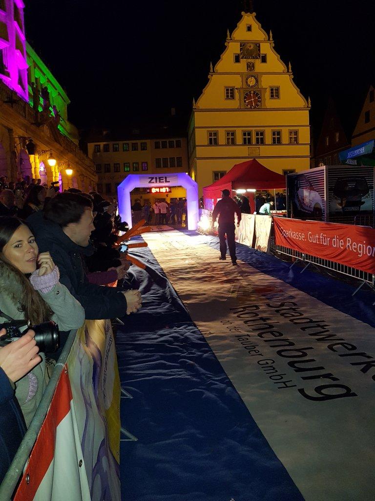Zielbereich Rothenburger Lichterlauf