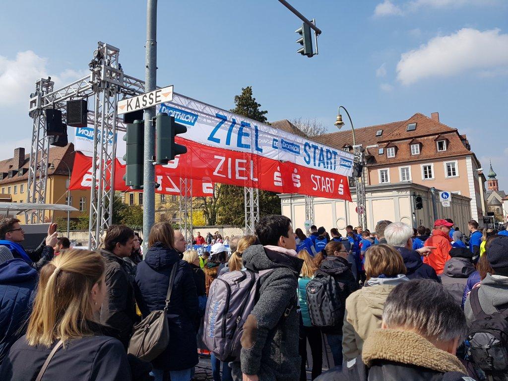 Start / Ziel Würzburger Residenzlauf