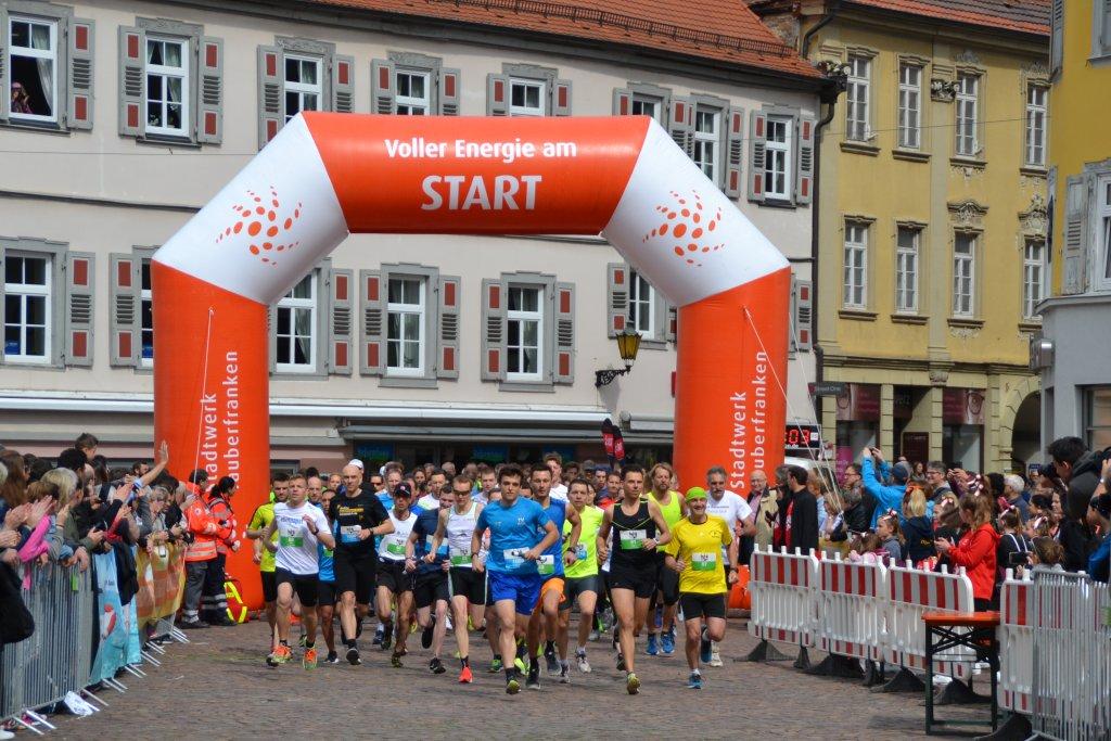 Startschuss 14. Stadtlauf Bad Mergentheim
