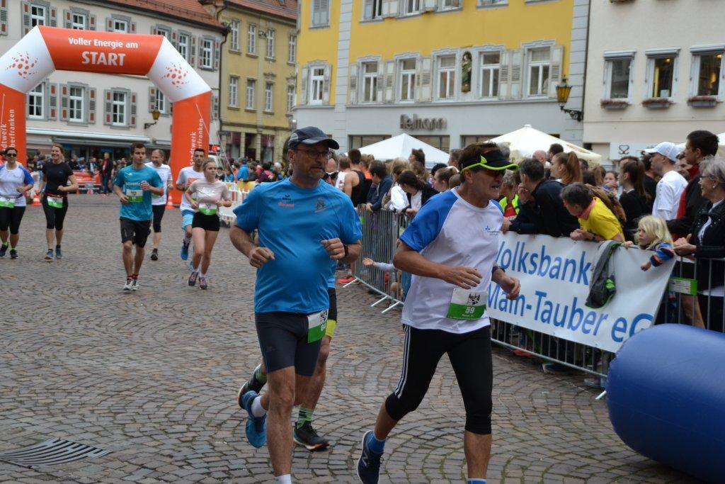 Roland und Rainer in Bad Mergentheim