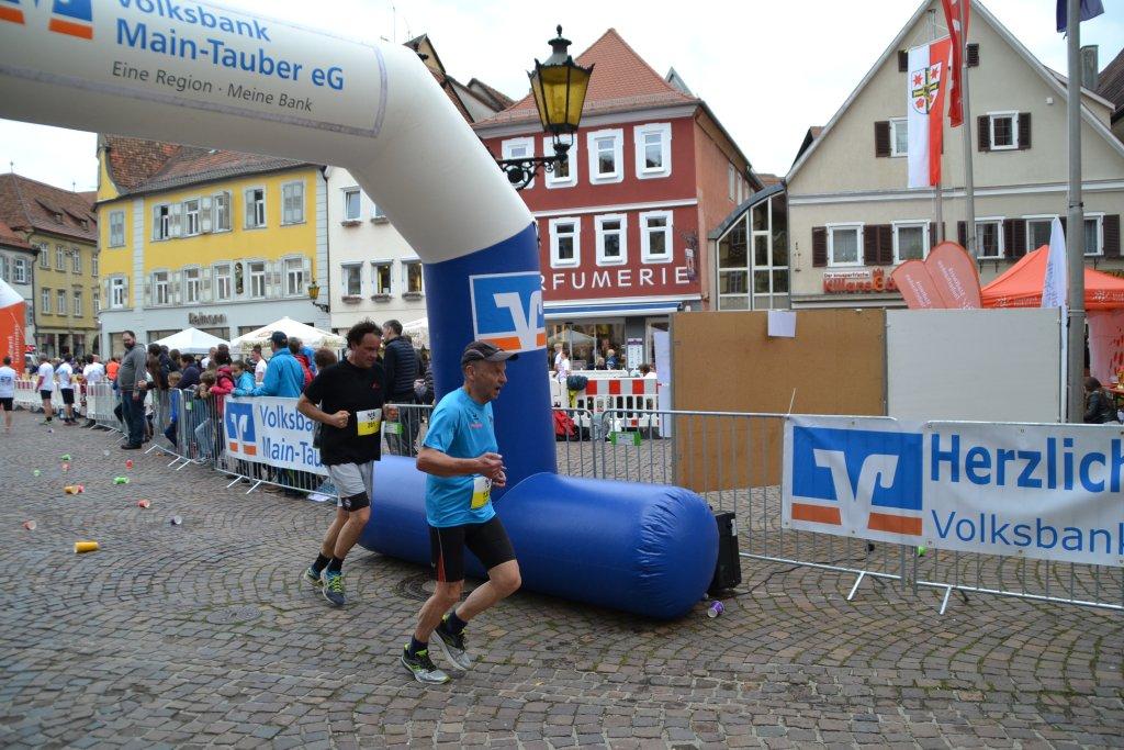 Wilhelm auf der 10km Strecke