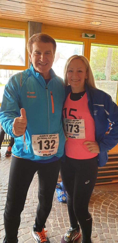 Rainer und Erika vor dem Start