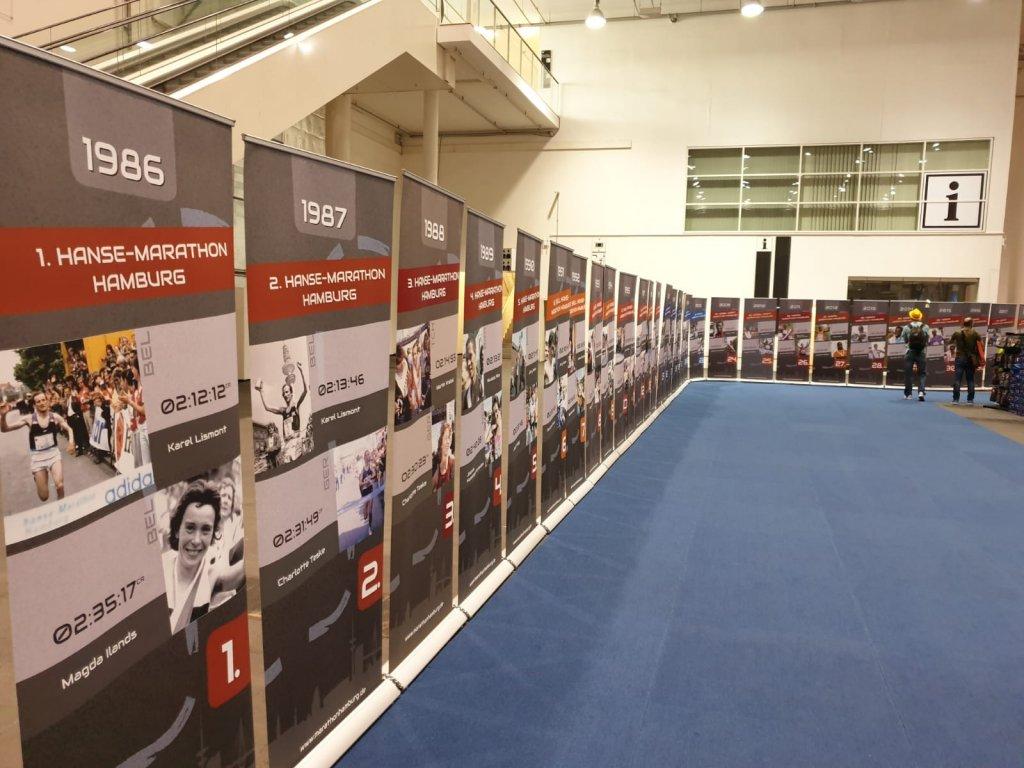 Die Sieger der letzten 33. Hansa Marathon Hamburg Läufen