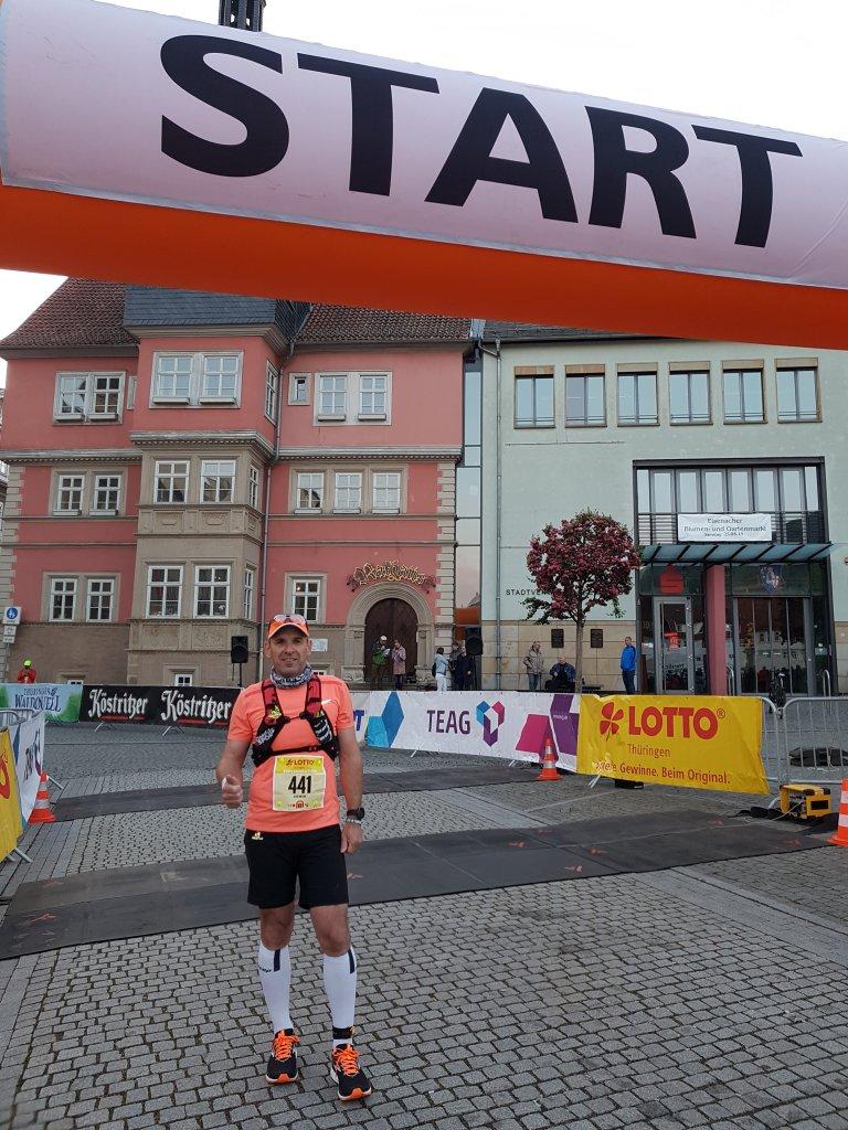 Armin beim Start in Eisenach