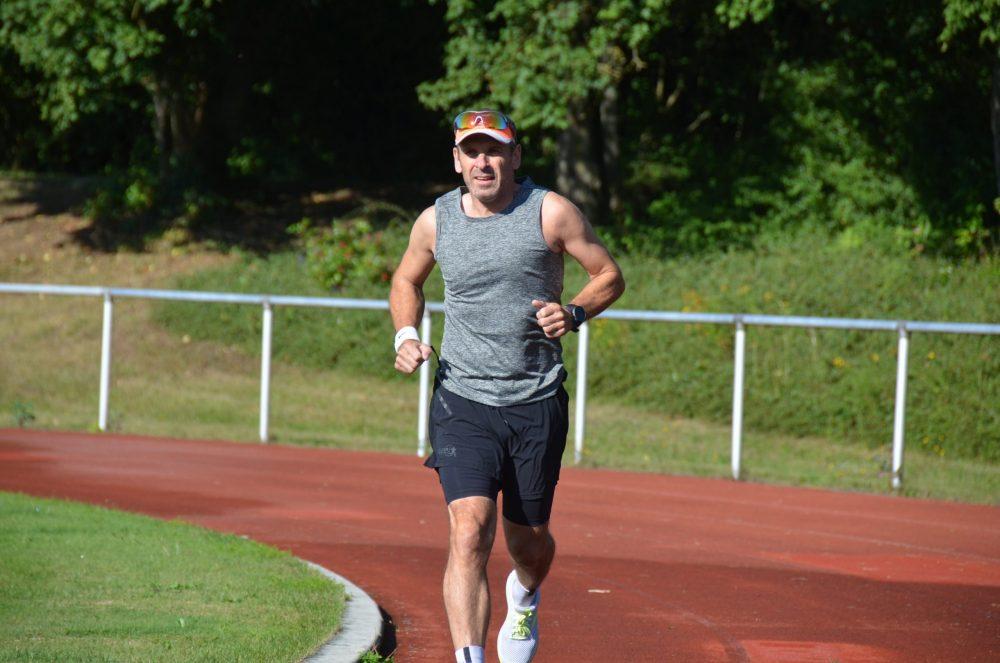 Armin beim Start 17,5 km